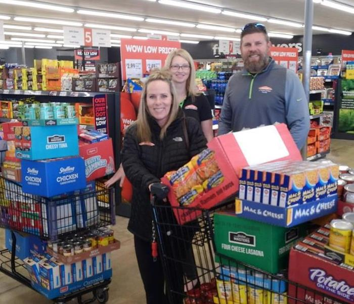 "Community SERVPRO of Western O'Fallon/Wentzville Helps ""Arrest Hunger"""